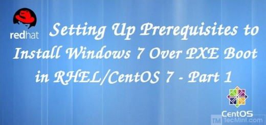 Setting Prerequisites to Install Windows 7 Over PXE