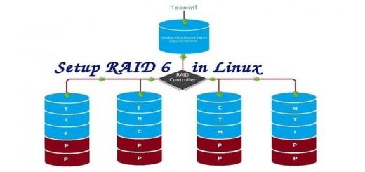 Setup RAID 6 in CentOS