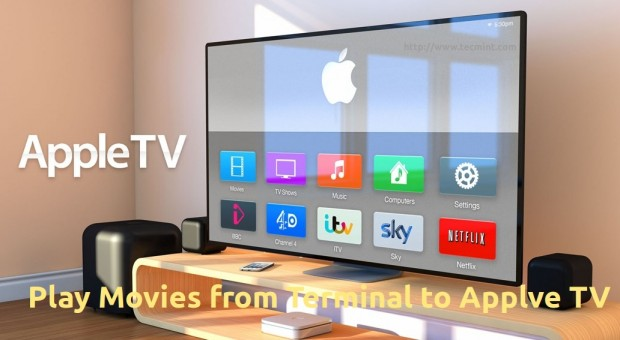 Stream Movies to Apple TV from Linux
