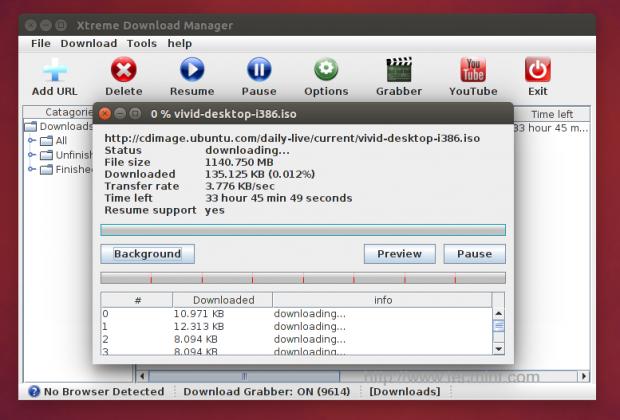 Install XDM in Ubuntu