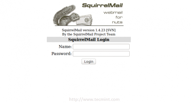 Access Squirrelmail in Ubuntu