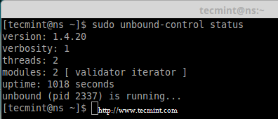 How to Install and Configure 'Cache Only DNS Server' with 'Unbound