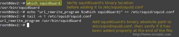 Configure SquidGuard for Squid