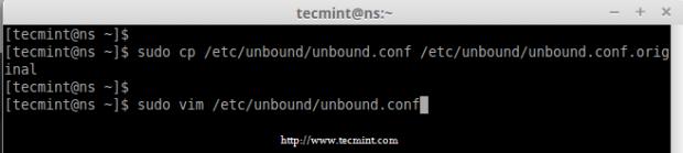 Copy Unbound DNS Configuration