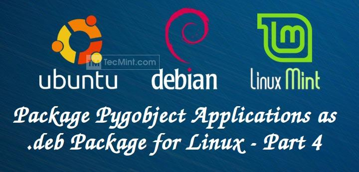 Create Deb Package for Applications