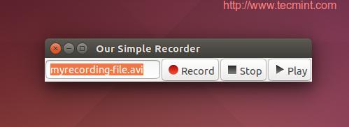 Create Desktop Recorder