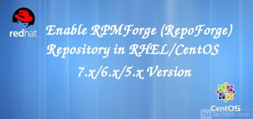 Install RPMForge Repository in Centos