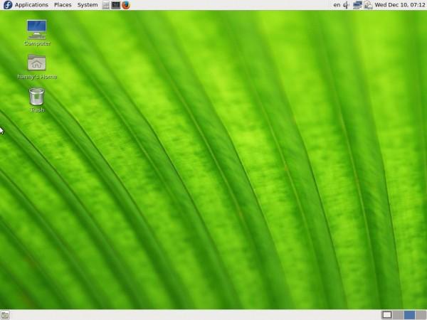 Fedora 21 Desktop
