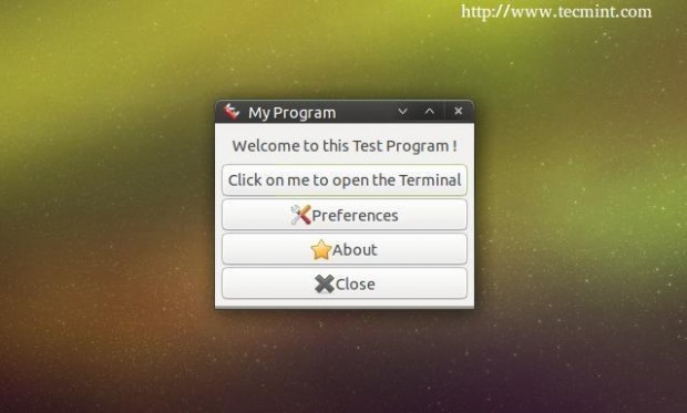 First Packaged Program