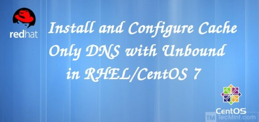 Setup Cahing DNS Server in CentOS 7