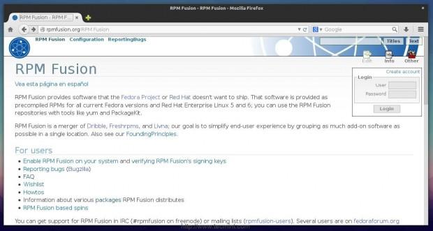 Install RPM Fusion Repsoitory in Fedora 21