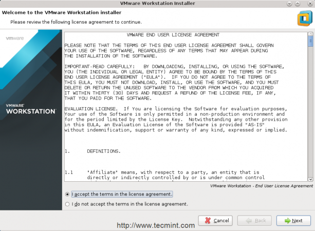 Install VMWare Workstation 12