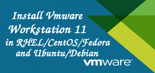 Install VMware Workstation 11 in Linux