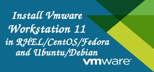 Install VMware Workstation 11 in Linux