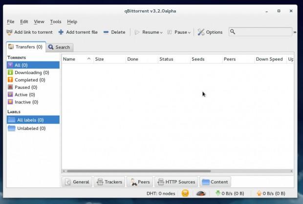Install qBittorrent in Fedora 21