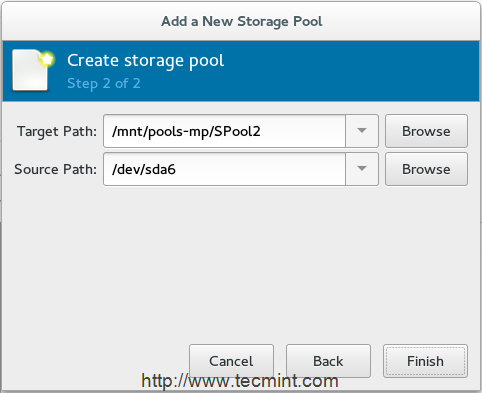 Add Second Storage Path