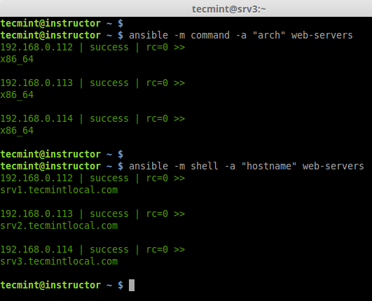 Check hostname on all Hosts