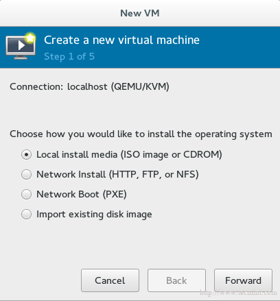 Create New Virtual Machine in KVM