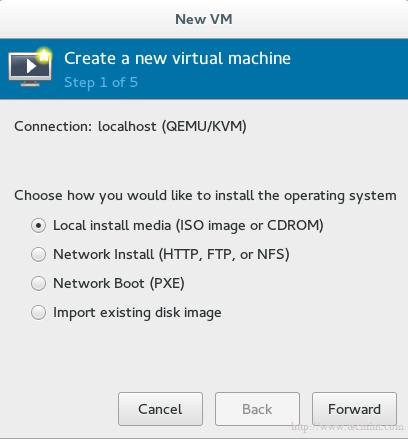 Create New Virtual Machine in KVM