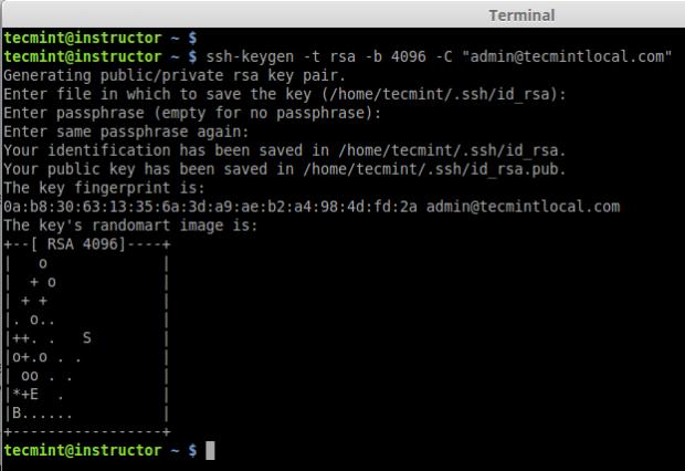 Create SSH Key