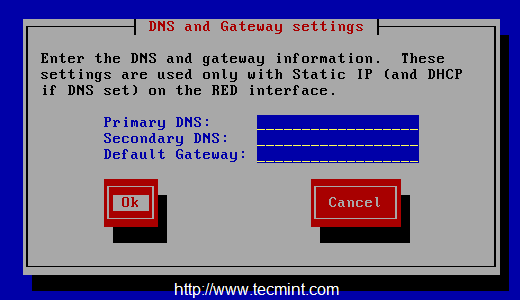 DNS IP Settings