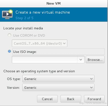 Disabled CD DVD Rom in KVM