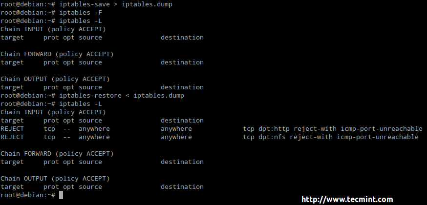 How To Setup an Iptables Firewall to Enable Remote Access to