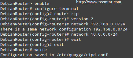 Enable Router in Linux
