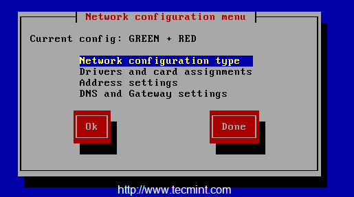 IPFire Network Configuration