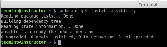 Install Ansible in Ubuntu