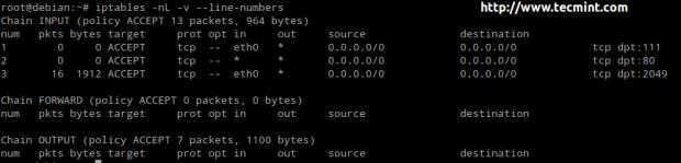 Linux Iptables Accept Rule