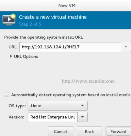 KVM HTTP VM Install