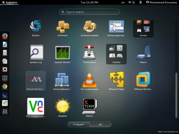 Start Virtual Manager in GNOME