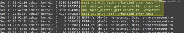 Troubleshoot Linux Server