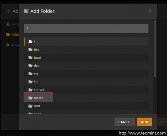 Add Media Folder