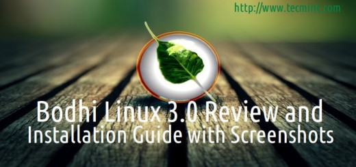 Bodhi Linux 3.0 Installation Guide