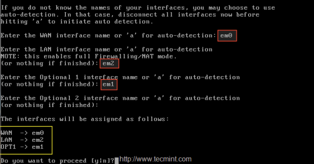 Configure Network Interfaces