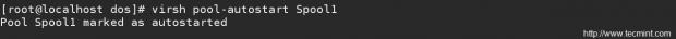 Configure KVM Storage Pool