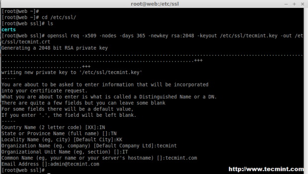 Create SSL for HAProxy