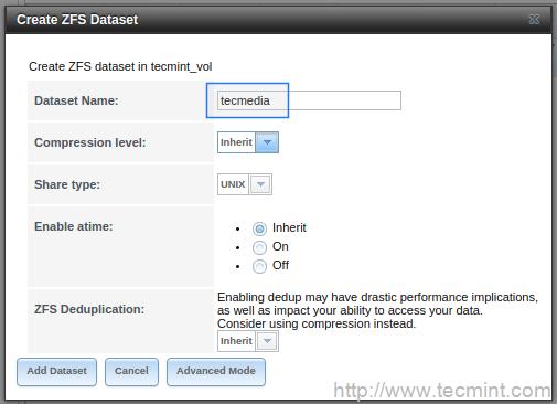 Creating Dataset for Volume