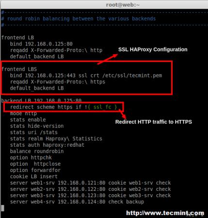 Enable SSL on HAProxy