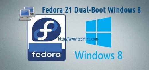 Fedora 21 Dual Boot Windows 8