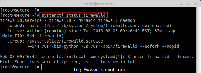 where is firewalld config file