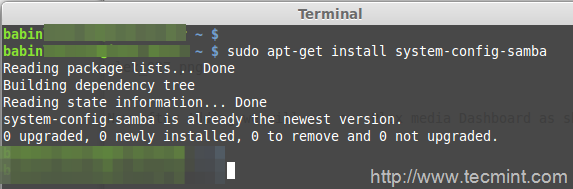 Install Samba For Plex