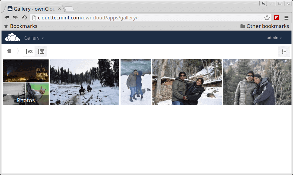 My Owncloud Picture Library