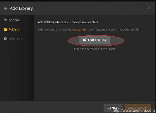 Select Add Folder