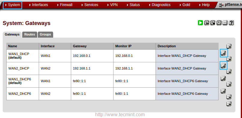How to Setup Failover and Load Balancing in PFSense