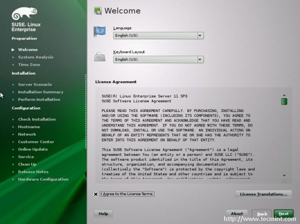 Agree Suse License