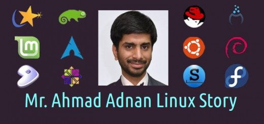 My Linux Story #3: Mr. Ahmad Adnan