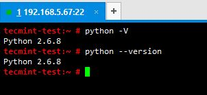 Check Python Version